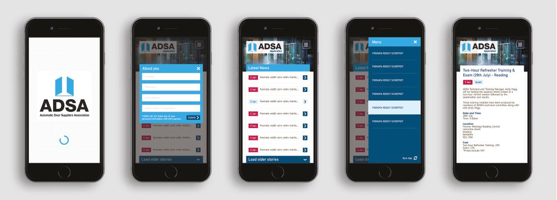 ADSA app