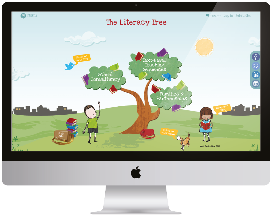 The Literacy Tree Website