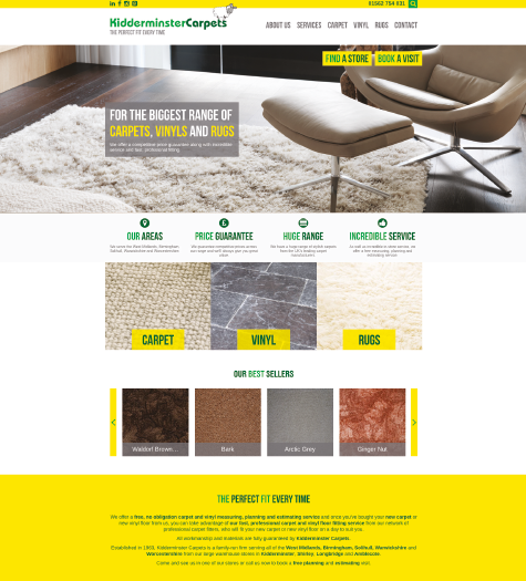 Kidderminster Carpets Website