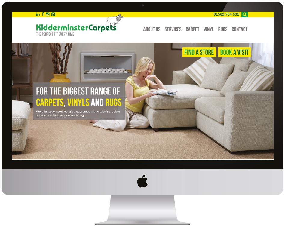 Kidderminster Carpets Website